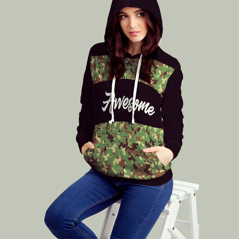 Awesome All over Print Hoodie - Hifza Apparel