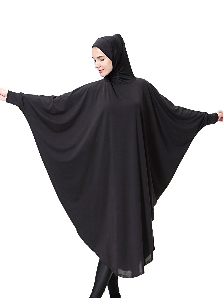 Black long Khimar Jilbab - Hifza Apparel