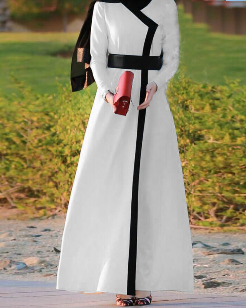 Cardigan Robe Abaya With Belt - Hifza Apparel