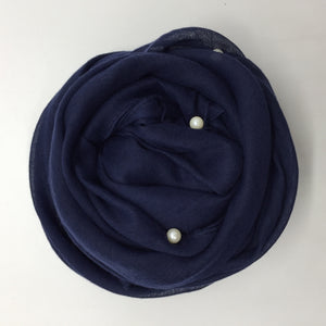 Bali Yarn Pure Color Pearl  Head Scarves - Hifza Apparel