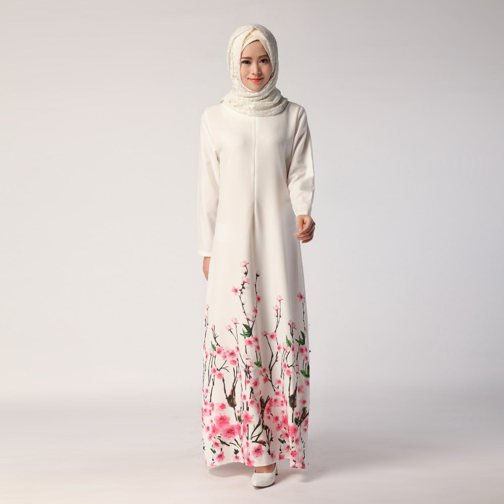 Digital Printed Abaya - Hifza Apparel