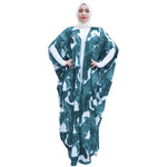 Loose Colorful Abaya - Hifza Apparel