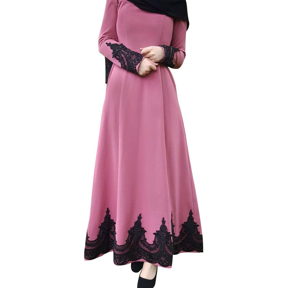 Lace Embroidered Dress - Hifza Apparel