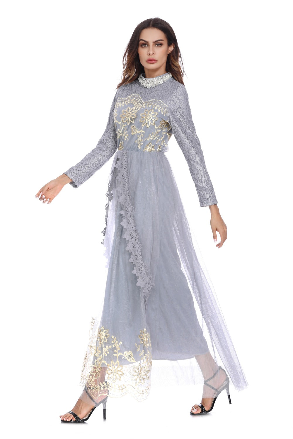 Trendy Lace Net Yarn Kaftan - Hifza Apparel