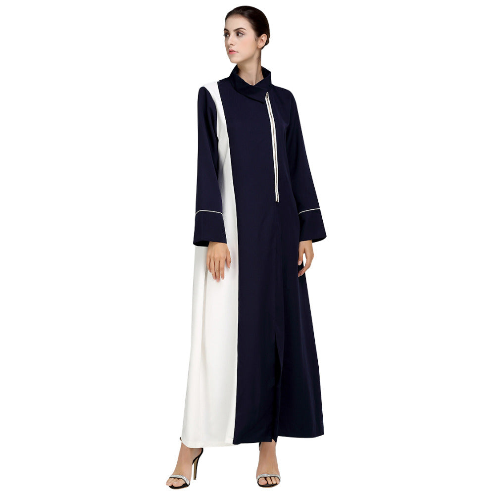 Elegant Zipper Abaya - Hifza Apparel