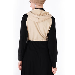 Spring Sport Hooded Abaya - Hifza Apparel