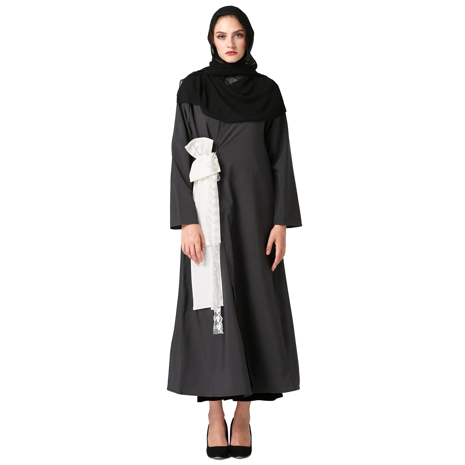 Black  Abaya - Hifza Apparel