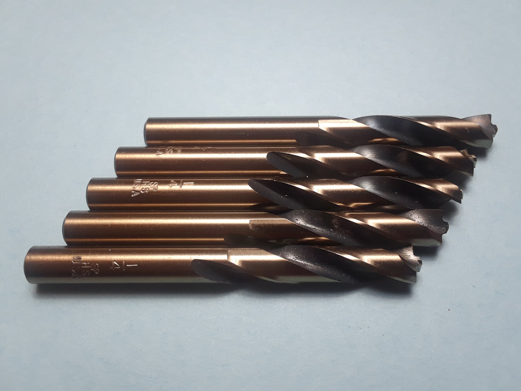Item #1003     5) pack of  1/4 inch HSS Pilot Point Spot Weld Cutter. Made in the USA