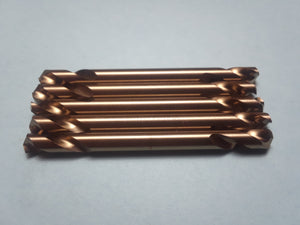 Item #1553     5 of 3/16 inch double ended HSS Drill Bits. Made in the USA
