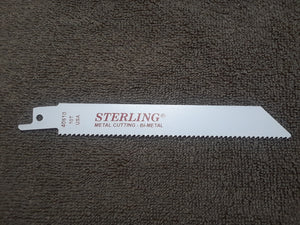 Item #2525     10T 6 inch Heavy Duty Sawzall blade. Made in the USA