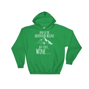 Adventure and Wine - Hoodie Damen