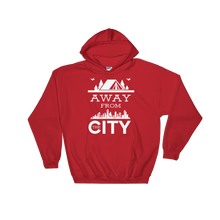 Laden Sie das Bild in den Galerie-Viewer, Away from the City - Hoodie Damen