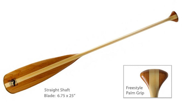 Bending Branches Beavertail Traditional Wood Canoe Paddle