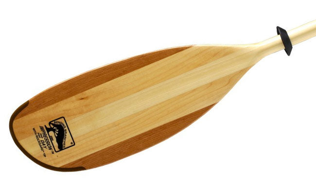 Bending Branches Impression Solo Wood Canoe Paddle