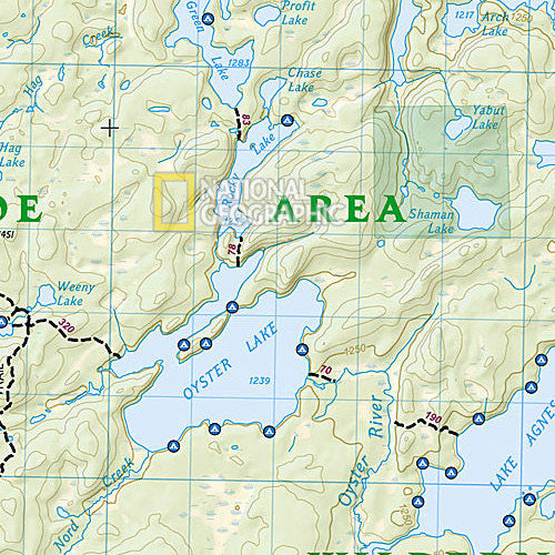 Boundary Waters Canoe Area Wilderness West Map