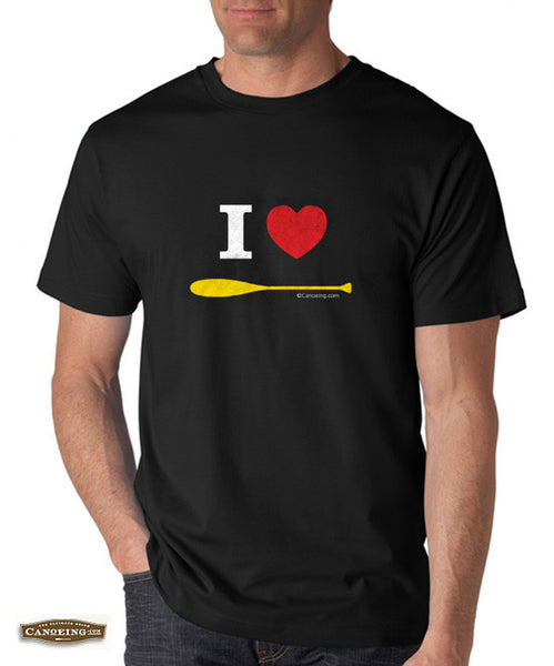 I Love Paddling T-Shirt Mens