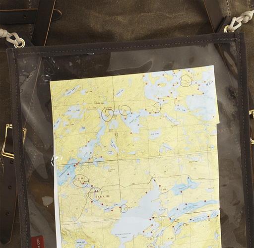Frost River Map Case