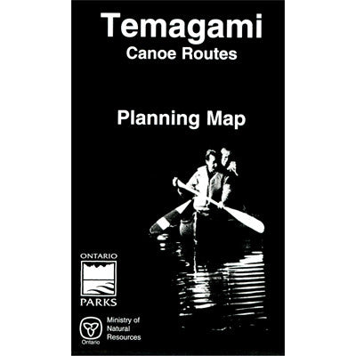 Temagami Canoe Routes Planning Map