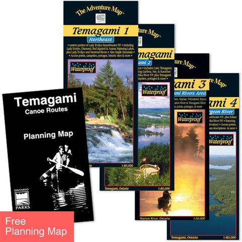 Temagami Map Set