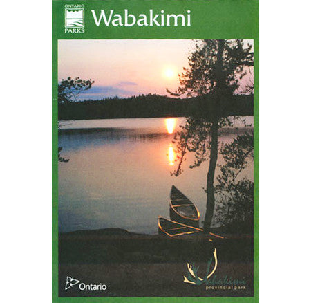 Wabakimi Provincial Park Planning Map