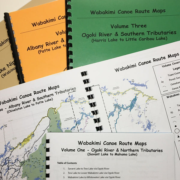 Wabakimi Canoe Route Maps Volume Five