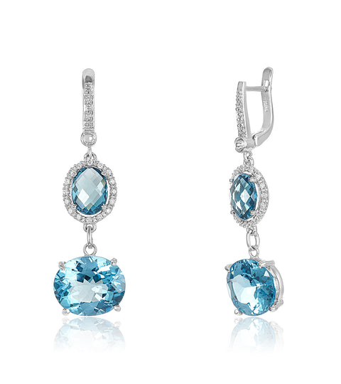 Acquamarine Earrings
