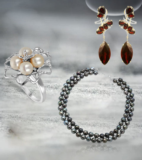 Get that Classy Vintage Look Back with Nehita's Amazing Pearl Jewelry Items