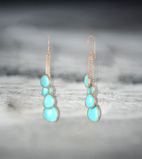 Turquoise and Coral Earrings: What Everyone's Talking About