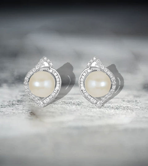 How to Choose Pearl and Diamond Stud Earrings?