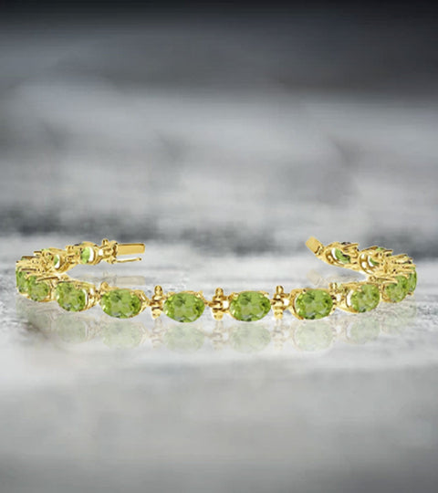 Peridot Gemstone Bracelet- An Incredible Way to Adorn Your Wrist
