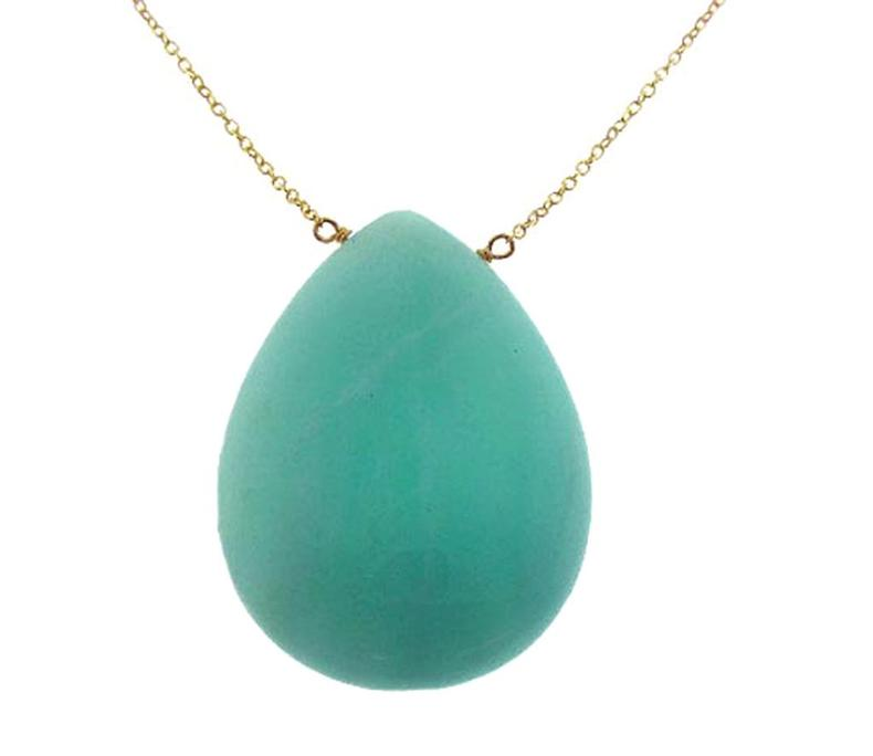 14 Karat Amazonite Necklace