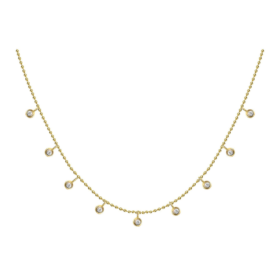 Nehita Bazel Choka Diamond Necklace