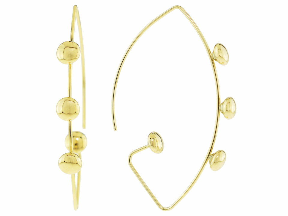 Zang Gold Earrings