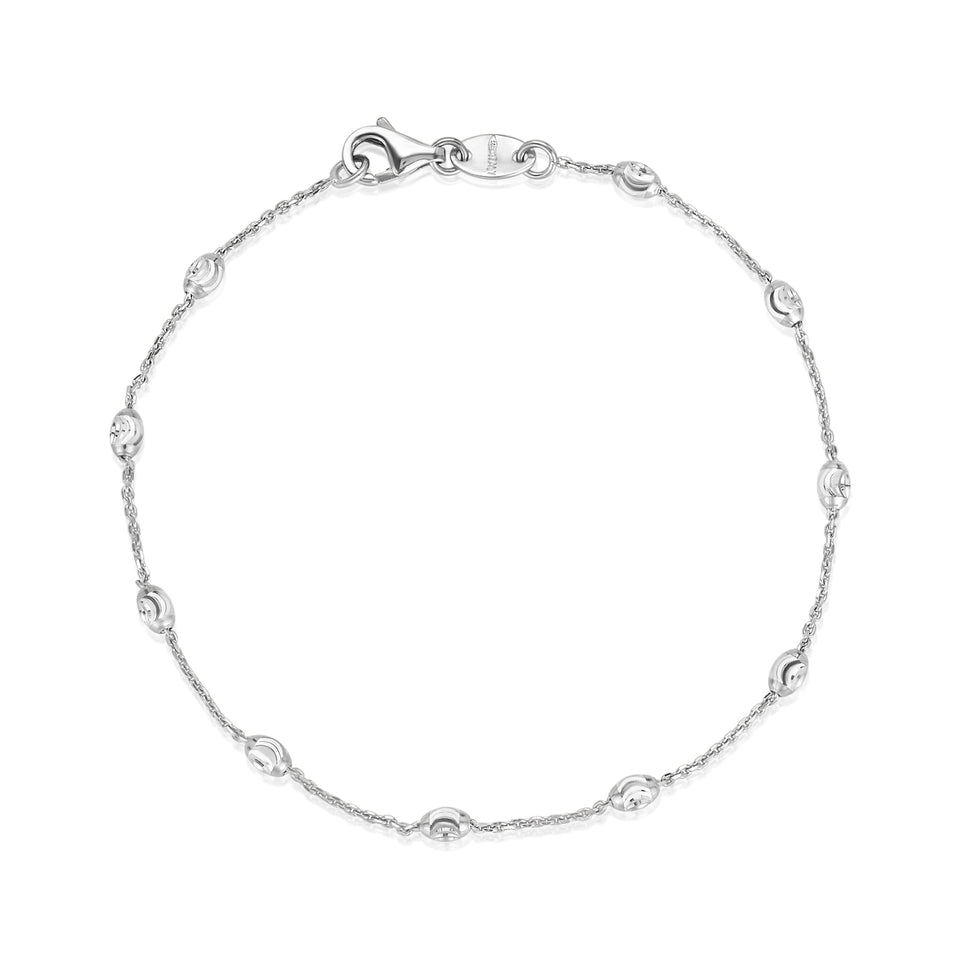 Dainty Yellow & White Gold Bracelet