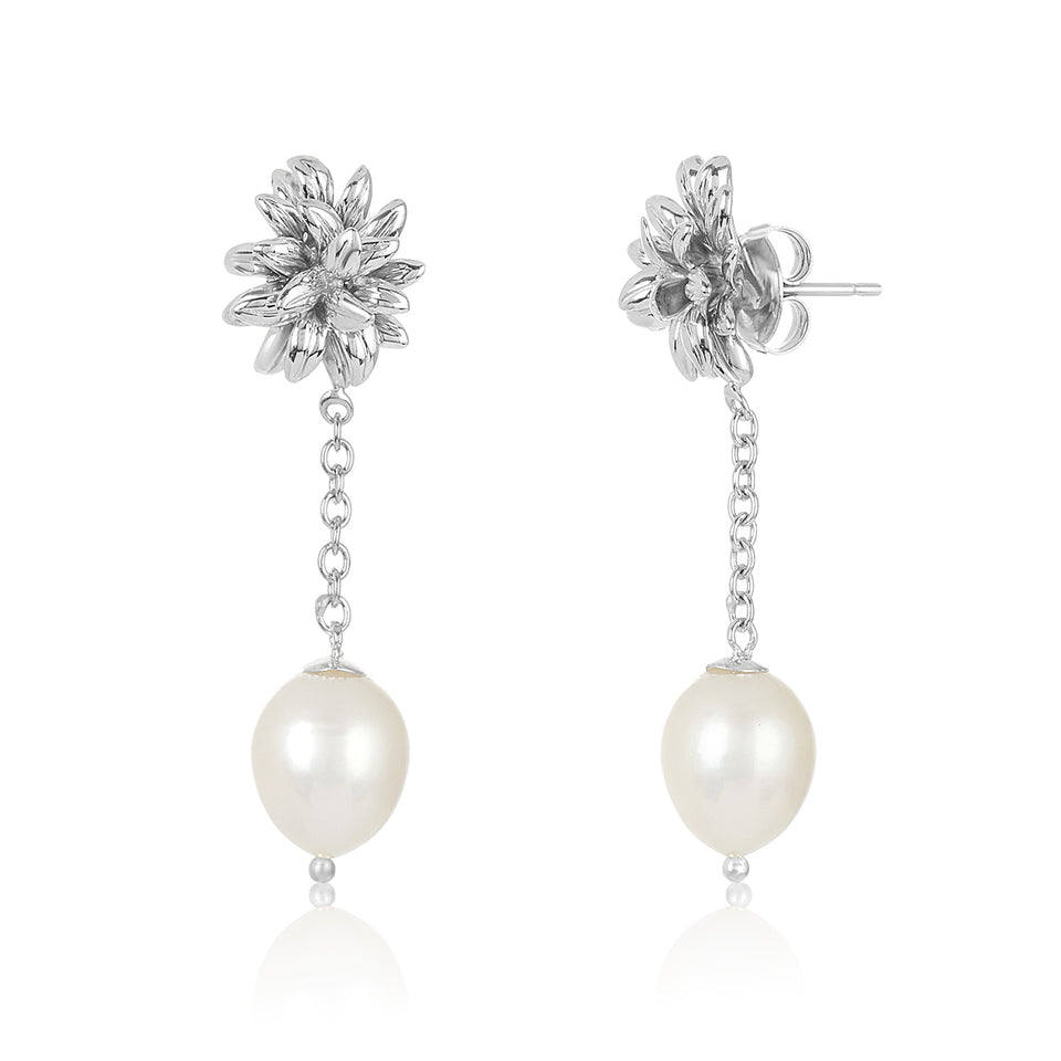 Twinkle Pearl Earrings