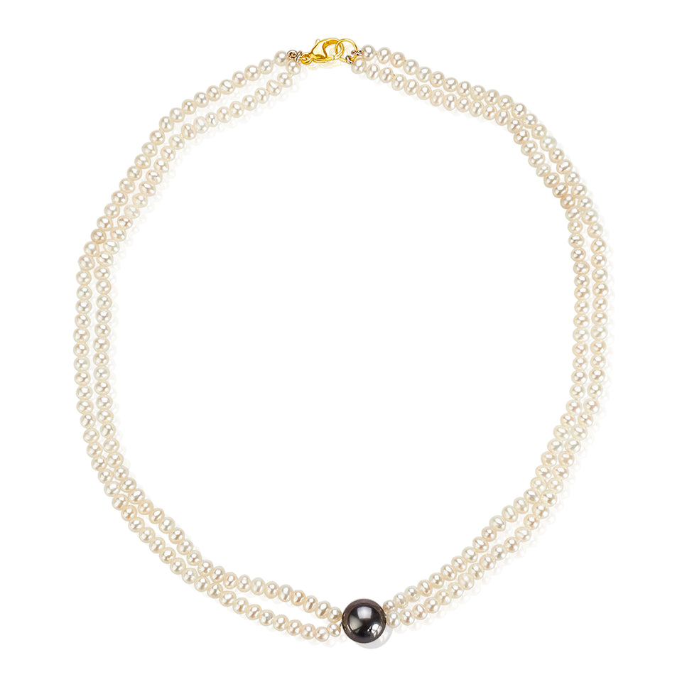 Nehita Contemporary Pearl Necklace
