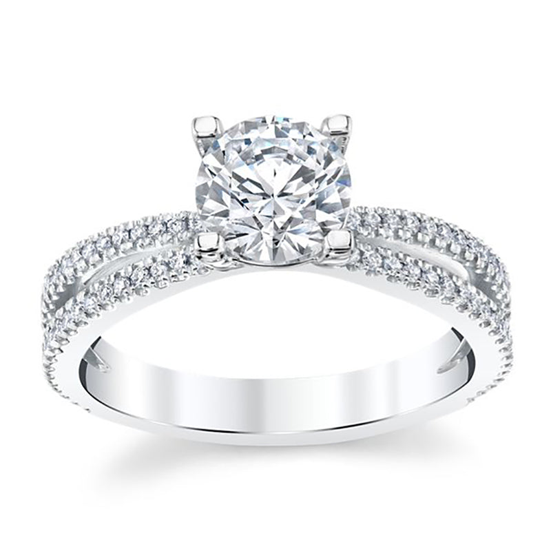 Nehita Bitty Split Shank Engagement Ring
