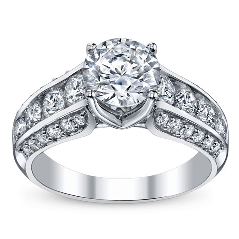 Lavish Nehita Tower Engagement Ring