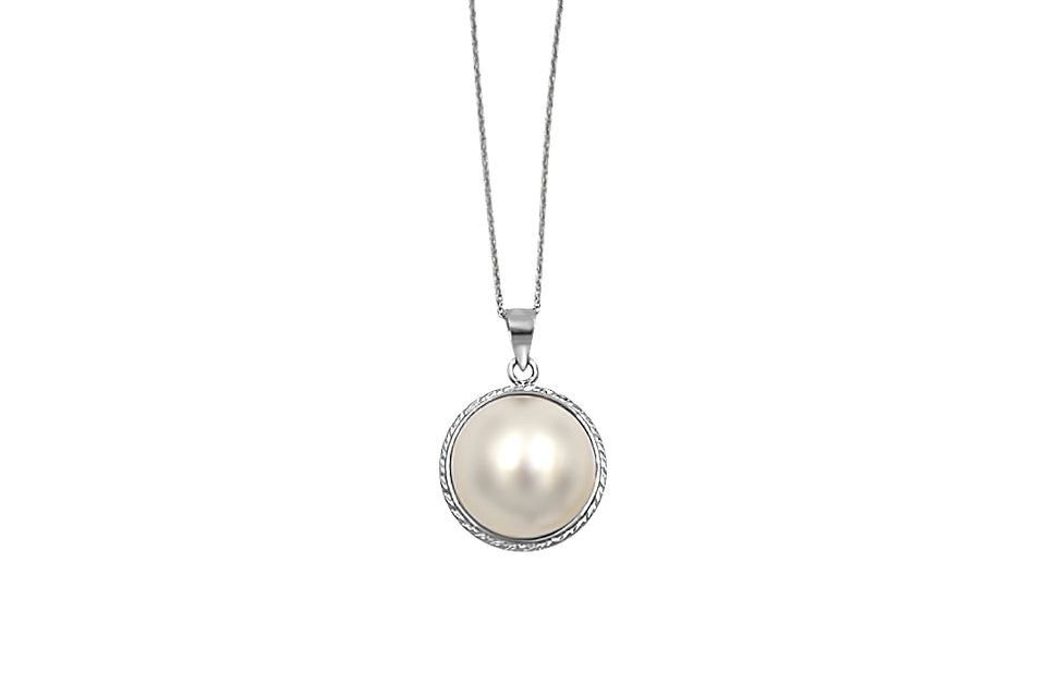 18kt Classic Pearl Pendant