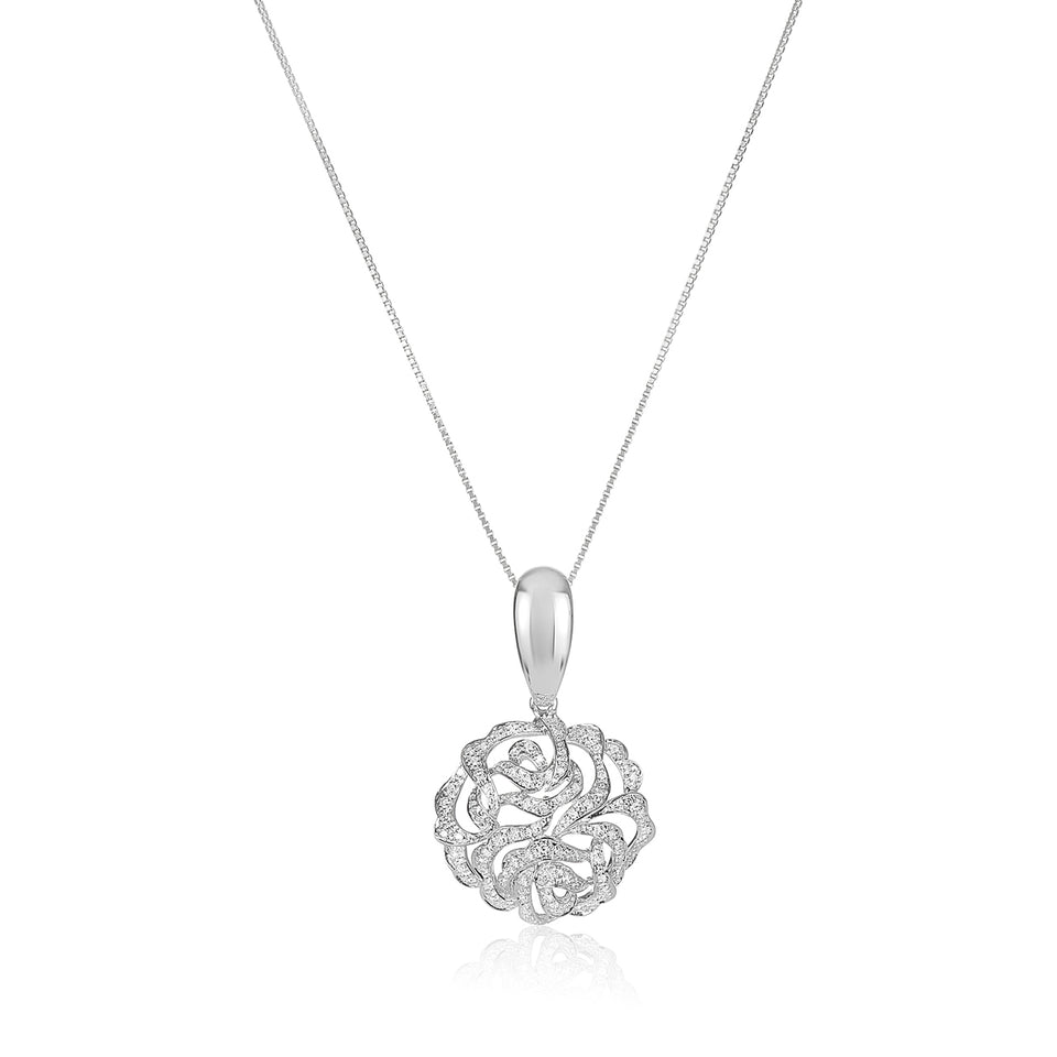 Nehita Rose Diamond Pendant