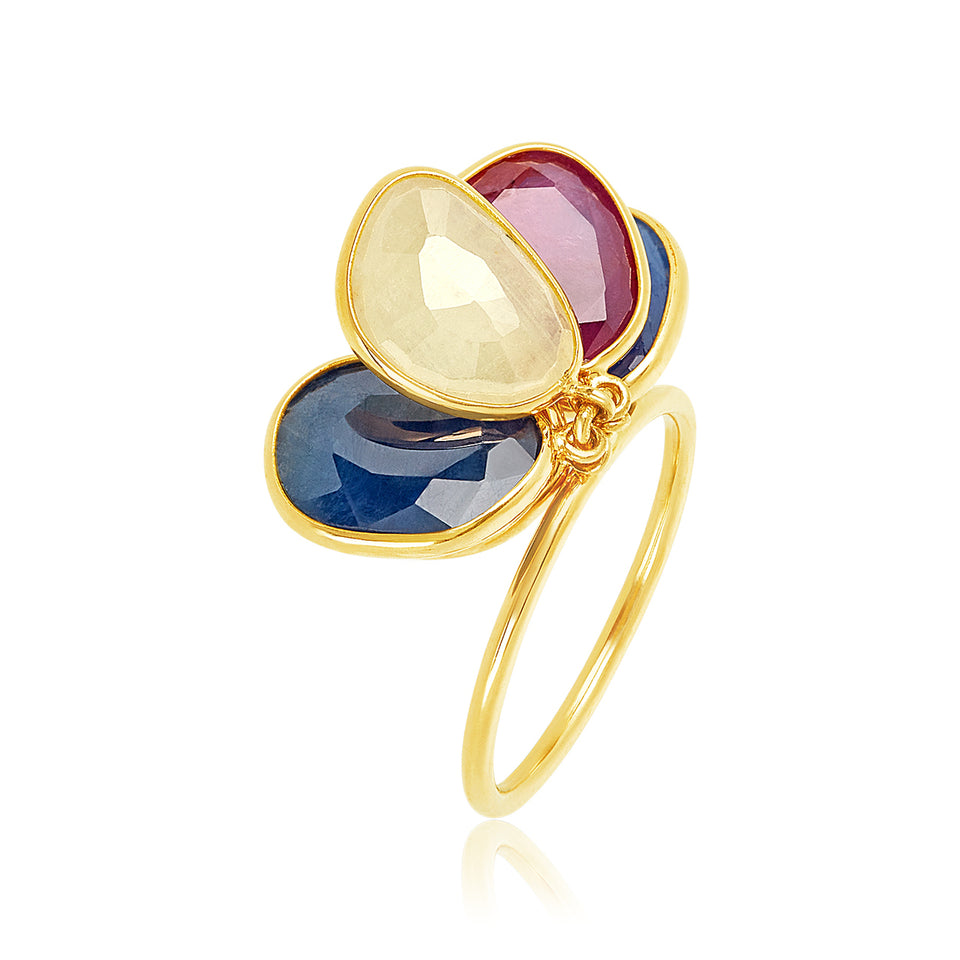 Dancing Sapphire Ring