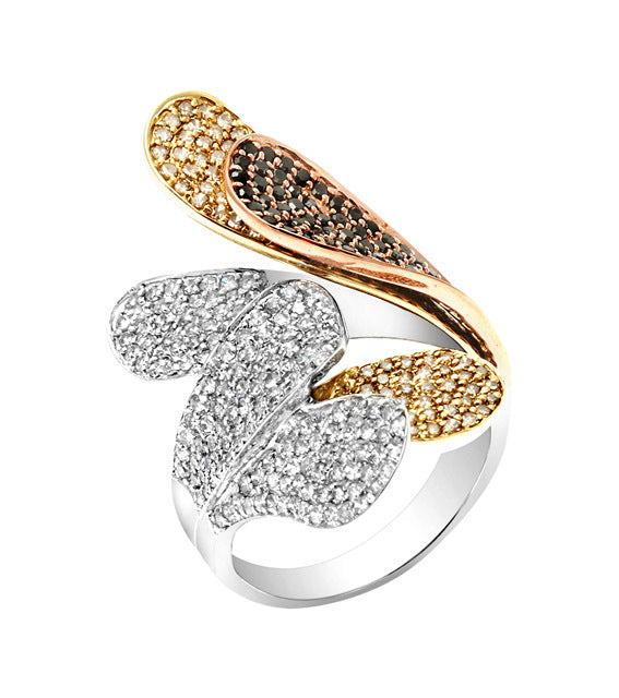 Layer Diamond Ring
