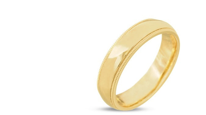 Classic Curved Plain Wedding Band
