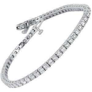 14kt Tennis Diamond Bracelet