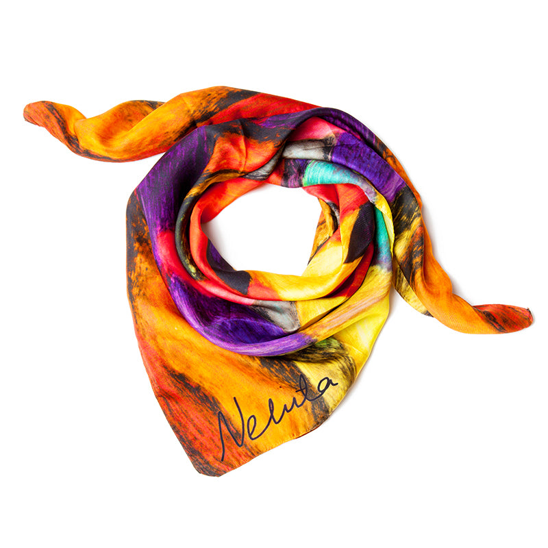 Nehita Abstract Scarf