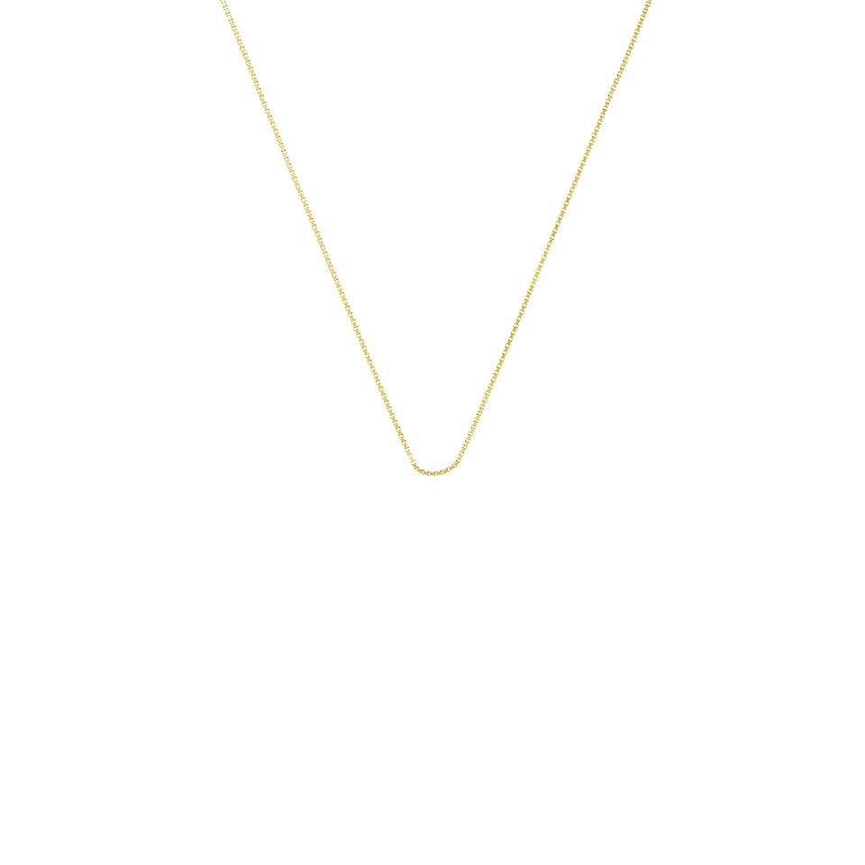 Yellow Gold Mini Rolo Chain 18""