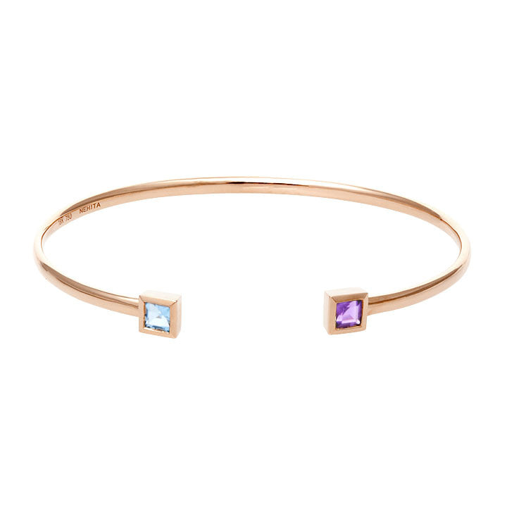 14kt Rose Gold Cuff Bangle