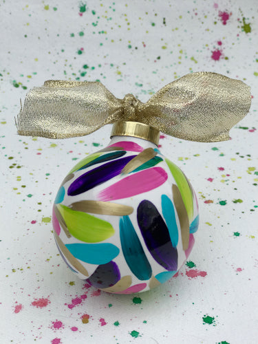 Ceramic Ball Ornament