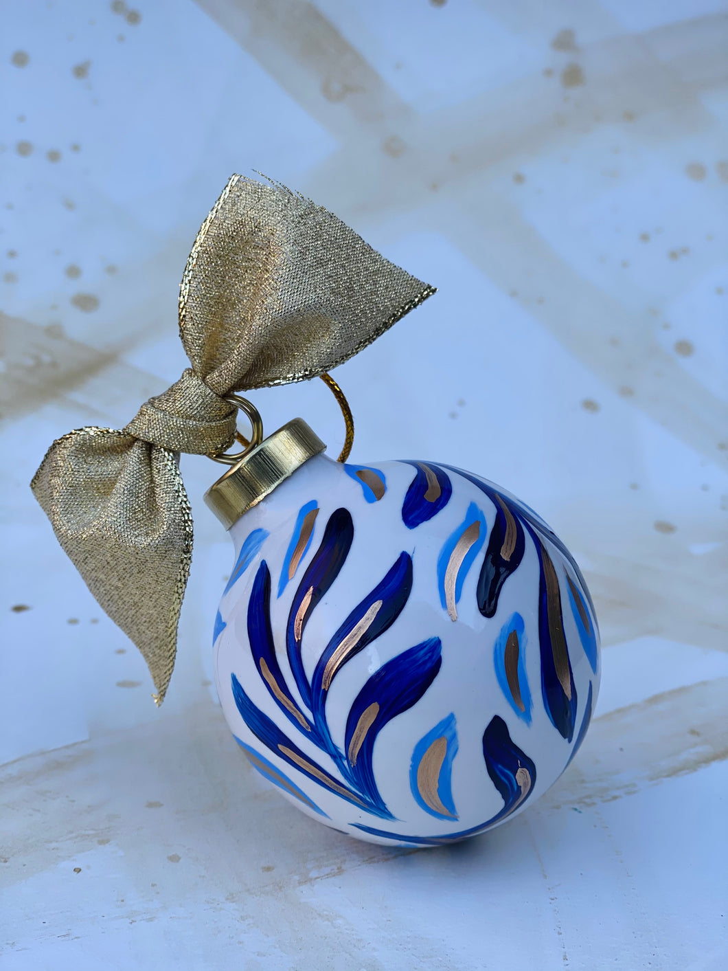 Ceramic Ball ornament 2
