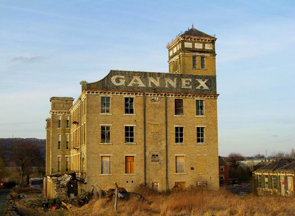 Gannex factory Elland hunted and stufed
